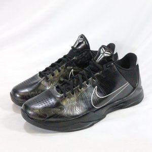 NIKE Kobe Mentality Zoom Kobe 5 Black Out Sneakers